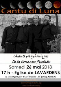 Cantu di Luna à Lavardens – 26 mai 2018